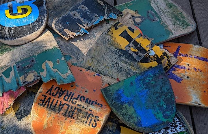 Upcycling Workshop  - Schmuck aus alten Skateboards: Bild