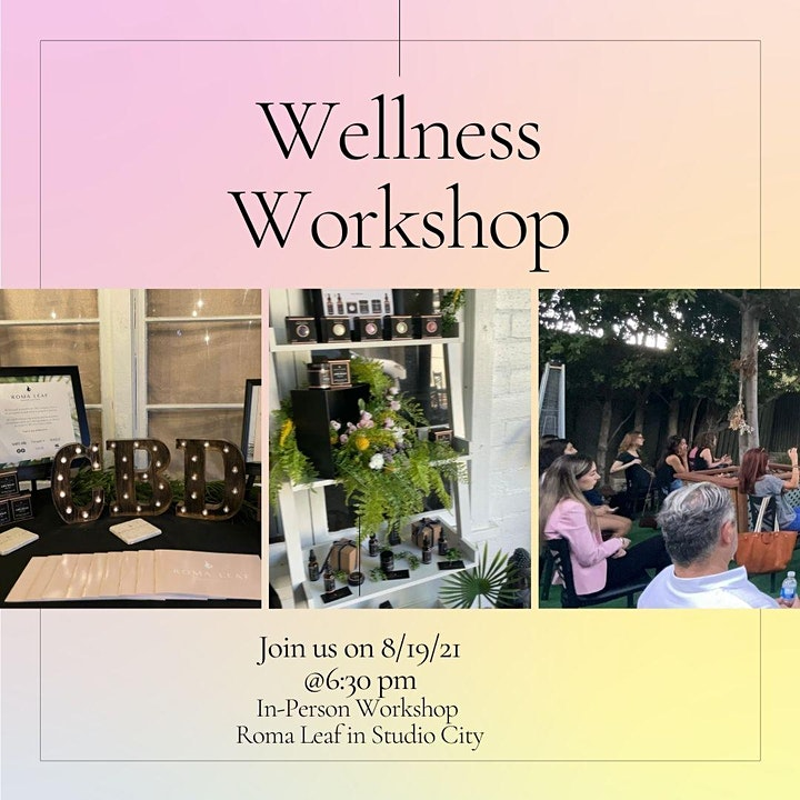 Hello Relief, Goodbye Anxiety Wellness Workshop (In-Person & Virtual) image