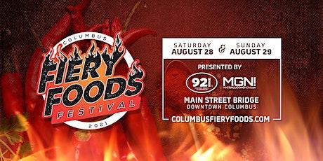Columbus Fiery Foods Festival 2021 tickets