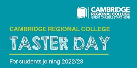Year 11 Taster Day - Cambridge Campus tickets