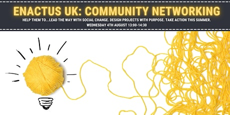 Enactus UK Community Networking - Insights for Youth Social Action tickets