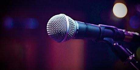 Speak the Word: online open mic night tickets