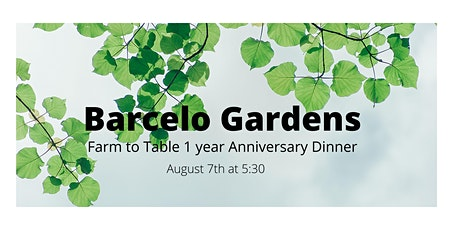 Farm to Table Family Style Dinner At Barcelo Gardens tickets