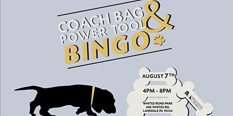 Home at Last Dog Rescue's 6th Annual Coach Bag + Tool Bingo in the Park tickets