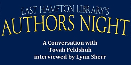 Authors Night  - A Conversation with Tovah Feldshuh tickets