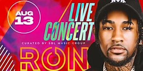 Ron Suno live performance tickets