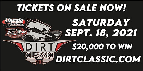 Dirt Classic VIII at Lincoln Speedway tickets