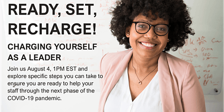 Ready, Set, Recharge: Charging Yourself as a Leader (90 Minutes) Tickets