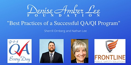 """""""Best Practices of a Successful QA/QI Program"""" August Virtual tickets"""
