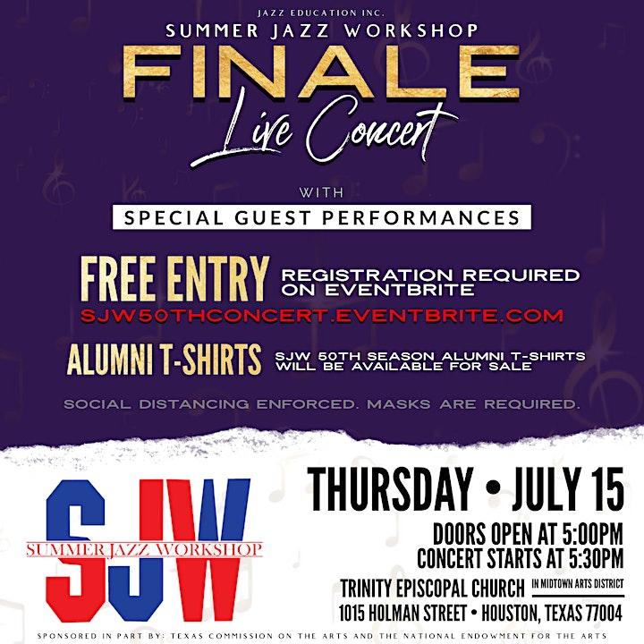 SJW 50th Anniversary Season Finale Concert image