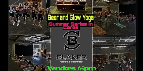Glow Yoga & Beer tickets