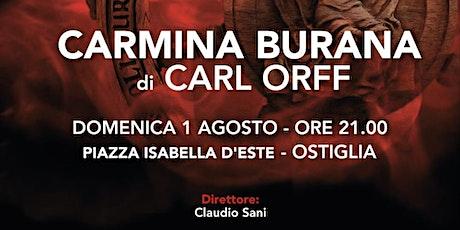 Carmina Burana di  Carl Orff biglietti