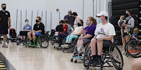 Wheelchair Basketball Clinic tickets