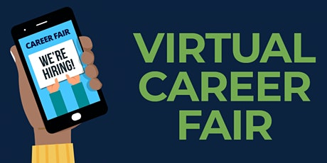 """How to """"Work"""" a  Job Fair - virtual OR in person! tickets"""