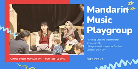 Mandarin Music Playgroup at HD Westminster tickets