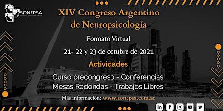 XIV Congreso Argentino de Neuropsicología - Formato Virtual. entradas