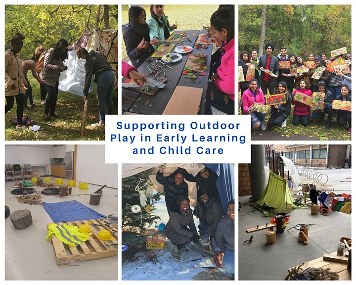 Supporting Outdoor Play in Early Learning and Child Care - NorQuest College image