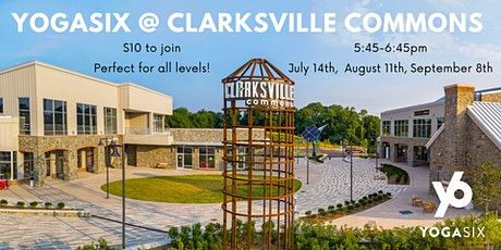 Yoga w/YogaSix @ Clarksville Commons tickets