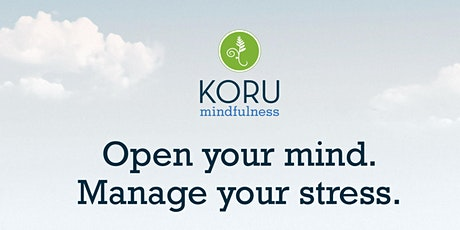 Virtual Basic Koru Mindfulness Course tickets
