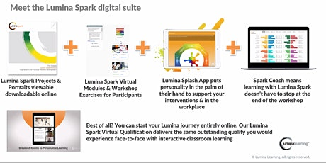 Introduction to Lumina Spark Digital Suite :) tickets