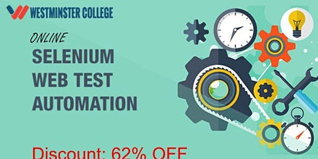 Selenium Test Automation with Java - Online Training tickets