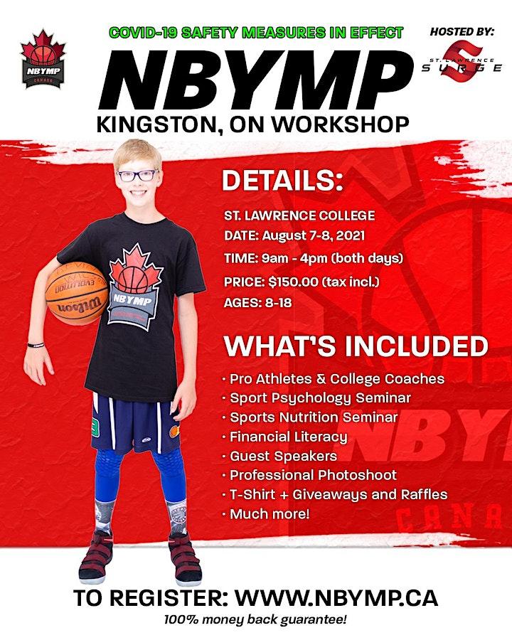 NBYMP Basketball Workshop - Kingston, ON (St. Lawrence College) image