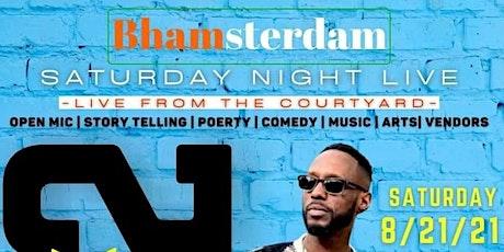 BHAMASTERDAM..... Saturday Night Live w/ Tmbuk 2 ..... tickets