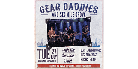 Best of the Midwest (ft. Reunion Band, Six Mile Grove & the Gear Daddies) tickets