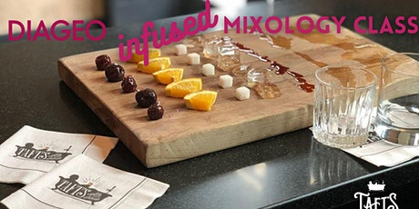 Mixology Class with Diageo Infused Spirits tickets