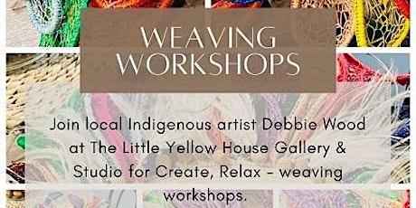 Create, Relax - Weaving Workshop tickets