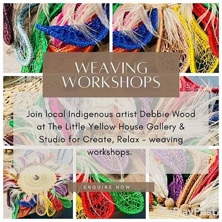Create, Relax - Weaving Workshop image