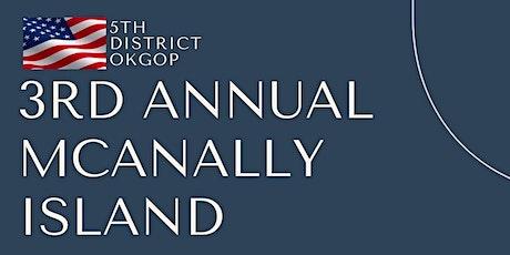 3rd Annual McAnally Island tickets