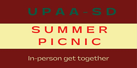 UPAA-SD Summer Picnic (In-Person Event) tickets