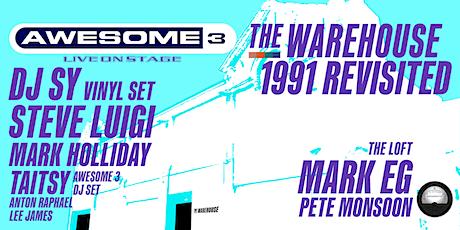 1991 REVISITED: DJ Sy/Steve Luigi/Mark EG/Awesome 3/Mark Holliday/P.Monsoon tickets