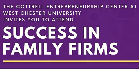 Success in Family Firms tickets