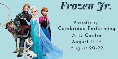 Frozen Jr tickets