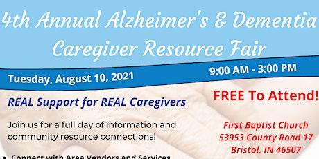 4th Annual Alzheimer's & Dementia Caregiver Resource Fair tickets