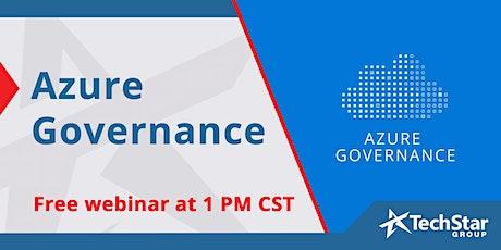 Azure Governance tickets