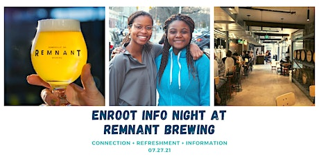 Enroot Info Night at Remnant Brewing tickets