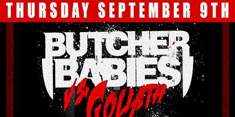 Butcher Babies, Infected Rain, Kaledio tickets