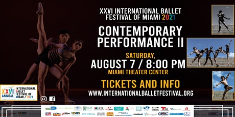 XXVI International Ballet Festival of Miami Contemporary Performance II tickets