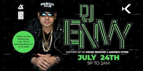 DJ Envy live at Kabana Rooftop tickets