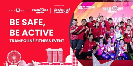 Be Safe, Be Active, Trampoliné Fitness Event -  Dance Fitness (Virtual) tickets