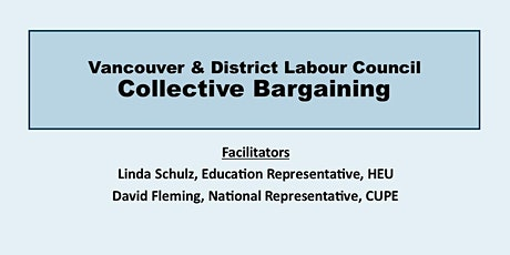 Collective Bargaining ( All Levels) tickets