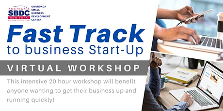 Fast Track to Business Start-Up Virtual Workshop tickets