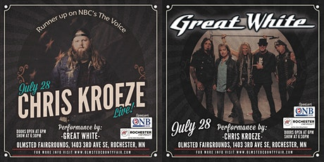 A Little Country, A Little Rock and Roll ft. Chris Kroeze and Great White tickets