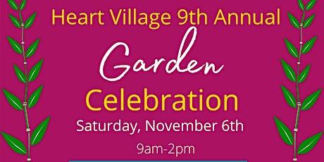 Heart Village Garden Celebration tickets