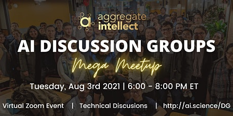 ML Discussion Groups MEGA MEETUP V tickets