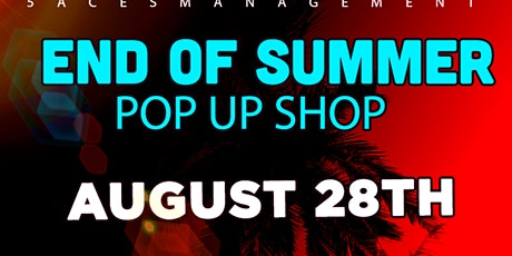 END OF THE SUMMER POP UP SHOP tickets