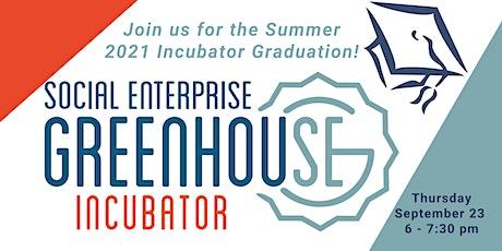 SEG 2021 Incubator Graduation tickets